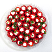 Gallabeks - Red cherry peppers stuffed with cheese