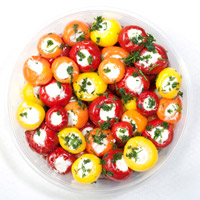 Gallabeks - Mixed cherry peppers stuffed with cheese